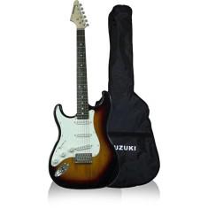 Guitarra Elétrica Stratocaster Canhoto Suzuki SST-5 Canhoto