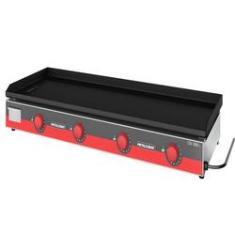 Chapa Bifeteira Industrial para Lanches Elétrica Metalcubas CBE 1500L