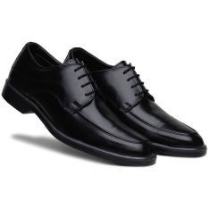 Imagem de Sapato Social Masculino Bico Redondo Cadarço Confortável