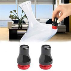 Imagem de 2 peças de esfregão magnético de limpeza de vidro, esfregador magnético de manchas, limpador de garrafa de vidro para janela de carro ()