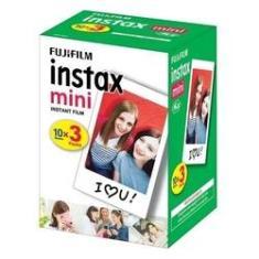Imagem de Filme Instax Mini Fujifilm Pack com 30 Poses/fotos