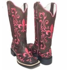Imagem de Bota Texana Feminina AZ  Bico Quadrado
