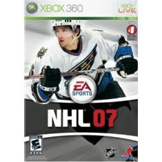 Jogo NHL 07 Xbox 360 EA