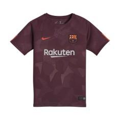 Camisa Infantil Barcelona III 2017 18 Sem Número Torcedor Infantil Nike 8b1334d2c0032
