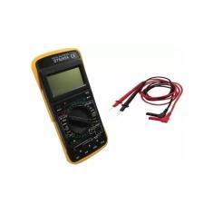 Imagem de Mulímetro Profissional LCD Digital Capacímetro Aviso Sonóro