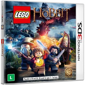 Jogo Lego O Hobbit Warner Bros Nintendo 3DS
