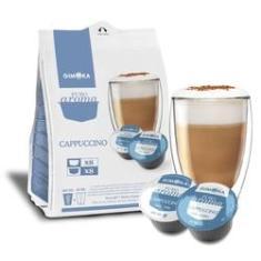 Imagem de Cápsula De Café Compatível Com Dolce Gusto Cappuccino 16 Cápsulas - Gimoka