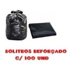 Imagem de Saco De Lixo 50l  Reforçado 100 Unidades Fabricante
