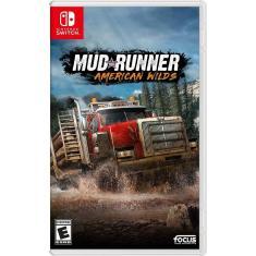 Jogo Mudrunner American Wilds Edition Focus Nintendo Switch
