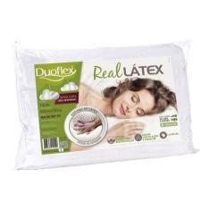 Imagem de Travesseiro Duoflex Real Látex Baixo 50x70x14cm