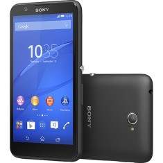 Smartphone Sony Xperia E4 E2124 TV Digital 8GB 5.0 MP 2 Chips Android 4.4 (Kit Kat)