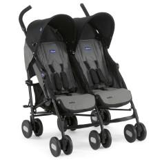 Carrinho de Bebê para Gêmeos Chicco Echo Twin