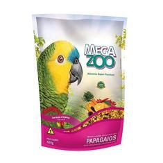Ração Megazoo Papagaios Frutas e Legumes - 600g