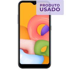 Imagem de Smartphone Samsung Galaxy A01 Usado 32GB Android
