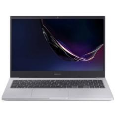 """Notebook Samsung Book E40 NP550XCJ-KS1BR Intel Core i3 10110U 15,6"""" 4GB SSD 256 GB 10ª Geração"""