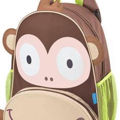 Imagem de Mochila com Rodinhas Escolar Multikids Macaco BB275