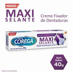 Imagem de Fixador De Dentadura Ultra Corega Creme Maxi Selante 40g