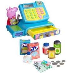 Imagem de Caixa Registradora e Acessórios - Mercadinho - Peppa Pig - DTC