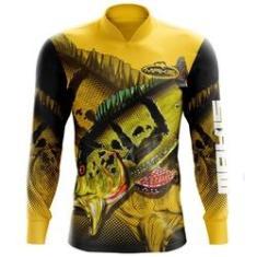 Imagem de Camisa De Pesca Proteção Solar Uv50 Makis Fishing MK-07