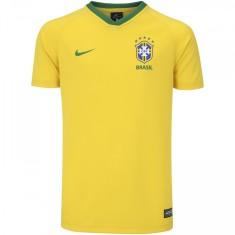 Camisa Infantil Supporter Brasil I 2018 19 sem Número Torcedor Infantil Nike 048adc5d580f5