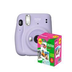kit Câmera Instantânea Fujifilm Instax Mini 11 Lilás + Filme com 40 Fotos
