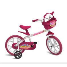 Imagem de Bicicleta Bandeirante Lazer Aro 14 Rosa sweet