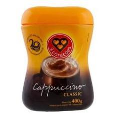 Imagem de Cappuccino Classic 3 Corações Pote 400g