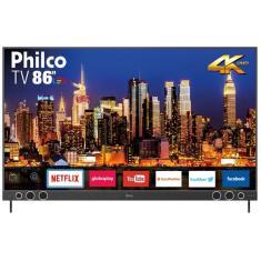 "Smart TV LED 86"" Philco 4K HDR PTV86P50SNSG 4 HDMI"