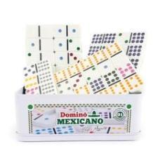 Imagem de Domino Mexicano 91 Peças Com trilho e Trenzinhos Hoyle Games