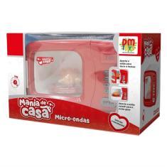 Imagem de Brinquedo Mania De Casa Micro-ondas Dm Toys