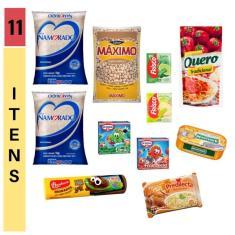 Imagem de Cesta básica alimentos 11 itens - Violeta