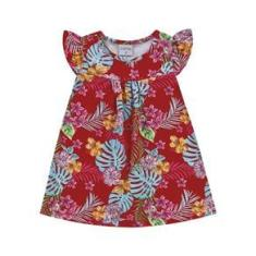 Imagem de Vestido Estampado -Forfun - Lukas Kids Moda Infantil