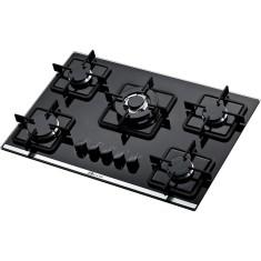 Imagem de Cooktop Built BLT 5Q TC PR 5 Bocas Acendimento Superautomático