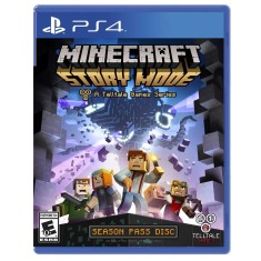 Jogo Minecraft Story Mode PS4 Telltale