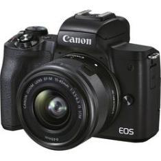 Imagem de Câmera mirrorless Canon EOS M50 Mark II com lente EF-M 15-45mm IS STM