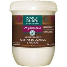 Imagem de Dagua Natural Creme Esfoliante Argiloterapia Esfoliante Cristais De Quartzo E Argilas 650gr