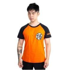Imagem de Camiseta Dragon Ball Kamehameha Laranja 6 Piticas