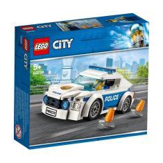Imagem de Lego City Carro De Policia Police Car Patrol 92 Peças 60239