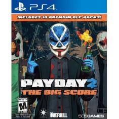 Jogo Payday 2 The Big Score PS4 505 Games