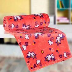 Imagem de Manta Fleece Lepper Solteiro Infantil Unicornio