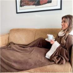 Imagem de Cobertor De Manga Com Sherpa Aconchego Casa Dona
