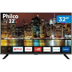 "Smart TV LED 32"" Philco PTV32G60SNBL 2 HDMI USB"