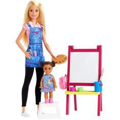 Imagem de Boneca Barbie Professora de Arte Mattel
