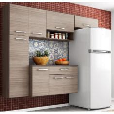 Imagem de Cozinha Compacta 1 Gaveta 8 Portas Anita Poquema