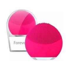 Imagem de Esponja Mini Elétrica Massageadora Para Limpeza Facial Pink