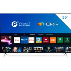 "Smart TV LED 55"" Philips 4K HDR 55PUG7625/78 3 HDMI"
