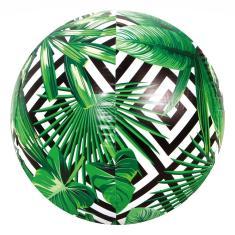 Imagem de Bola Inflável Bola Estampa Folhas Geométrico