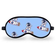 Imagem de Mascara Para Dormir Tapa Olhos Astronauta