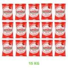 Imagem de Açúcar Cristal Refinado União Pacote 1kg Mais Comum - 15Unid