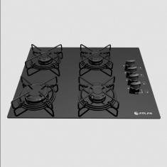 Cooktop Atlas 4 Bocas Acendimento Superautomático Agile 4Q